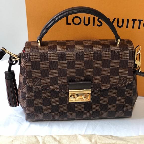 b3df4c5b43c2 Louis Vuitton Croisette bag brand new !